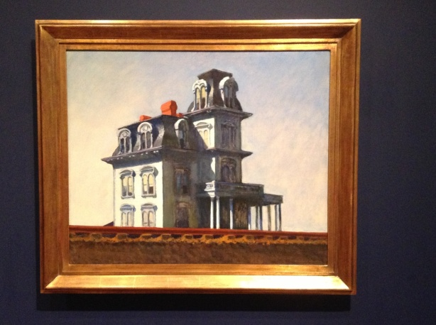 Edward Hopper. House by the Railroad. 1925, Öl auf Leinwand. The Museum of Modern Art, New York.
