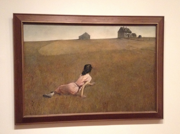Andrew Wyeth. Christina's World. 1948, Tempera auf Holz. The Museum of Modern Art, New York.