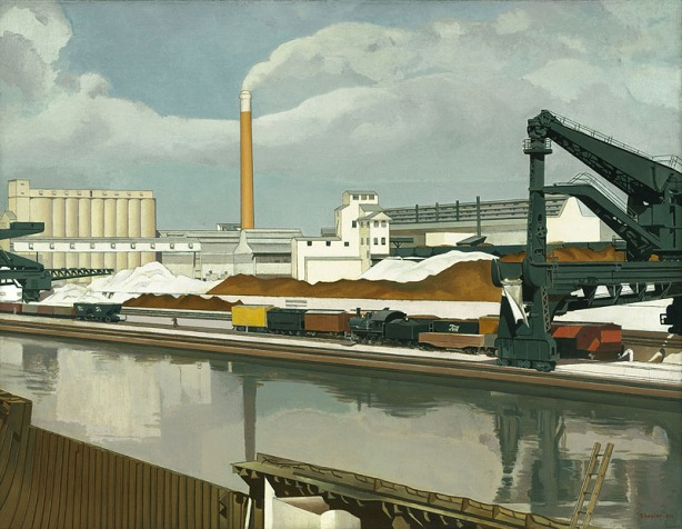Charles Sheeler. American Landscape. 1930, Öl auf Leinwand. The Museum of Modern Art, New York.
