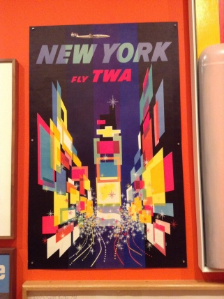 David Klein, New York Fly TWA, 1956.