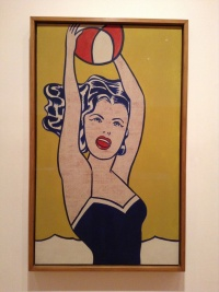 Roy Lichtenstein, Girl with Ball, 1961