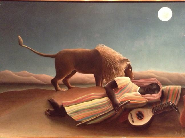 Henri Rousseau, The Sleeping Gypsy, 1897