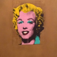 Andy Warhol, Gold Marilyn Monroe, 1962