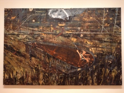 Anselm Kiefer, The Red Sea, 1984-85.