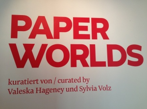 Paperworlds, me Collectors Room, Berlin