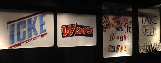 Ausstellungsansicht: Christian Holtmann - Icke, Wars, Votre santé, Take the lot