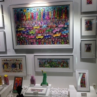 James Rizzi Pop Art Galerie Europapassage 2. OG Ballindamm 40 20095 Hamburg