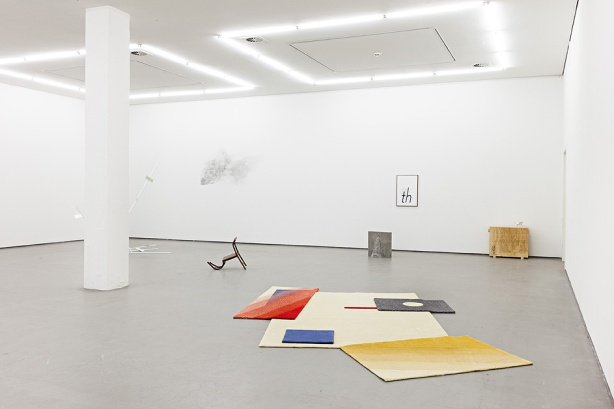 "Karl Larsson ""North Western Prose"" Ausstellungsansicht / Exhibition view, Kunstverein in Hamburg, 2014, Photo: Fred Dott"