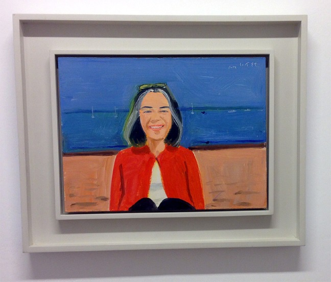 Alex Katz: Red Sweater, 1999, © Alex Katz