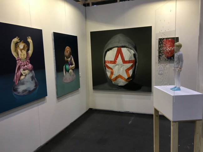 Evelyn Drewes Galerie auf der Affordable Art Fair 2015 Hamburg