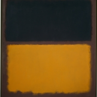 No.18 (Black. Orange on Maroon) Mark Rothko (1903–1970), 1963, oil on canvas, 175.6 x 163.5 cm. New York, Solomon R. Guggenheim Museum. Gift, The Mark Rothko Foundation, Inc., 86.3421 Photo by David Heald. © Kate Rothko Prizel & Christopher Rothko / ARS, New York, by SIAE 2016