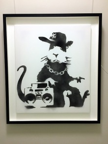 Banksy - Gangsta Rat (2006)