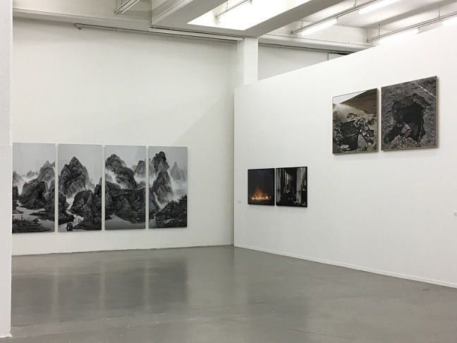 Yang Yongliang - Artificial Wonderland / Maxim Dondyuk Culture of the Confrontation / Sophie Ristelhueber - Eleven Blowups