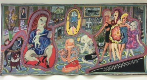 Grayson Perry - The Adoration of the Cage Fighters, 2012