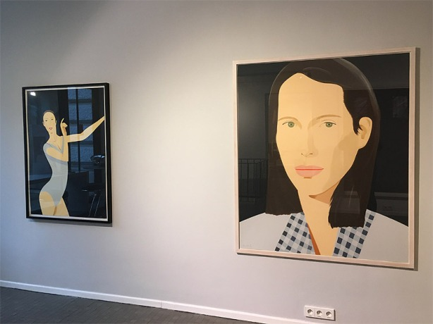 Alex Katz In Color (Sarah / Christy)