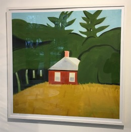 Alex Katz In Color (Red House)