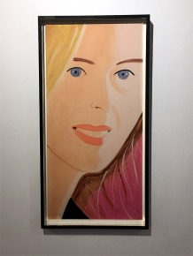 Alex Katz In Color (Sasha 1)