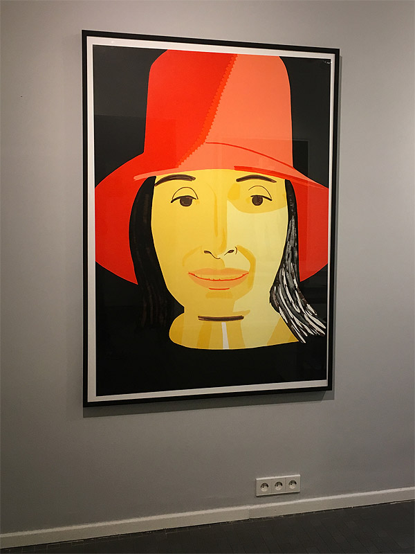 Alex Katz In Color (Red Hat Ada)