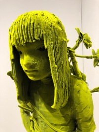"Kim Simonsson ""Moss Girl with Stuffed Monkey"" @ Galerie Forsblom"