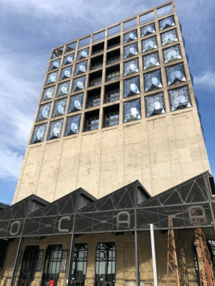 Zeitz MOCAA Entrance (Silo Hotel above)
