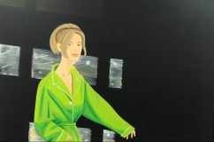 "Alex Katz ""Yvonne in Green"" @ Marlborough"
