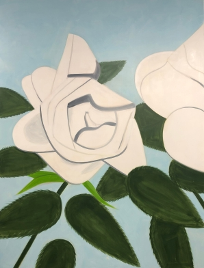 "Alex Katz ""White Roses 7"" @ Gavin Brown"