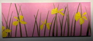 "Alex Katz ""Yellow Flags"" @ Galerie Thaddeus Ropac"