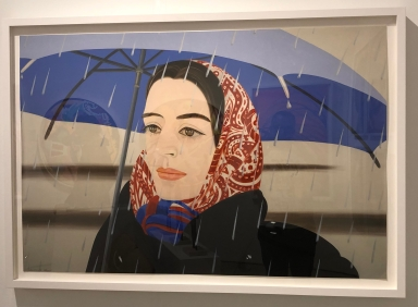 "Alex Katz ""Blue Umbrella"" @ Vertu Fine Art"
