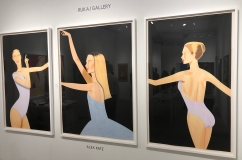 "Alex Katz ""Dancer 2"" @ Nikola Rukaj Gallery"