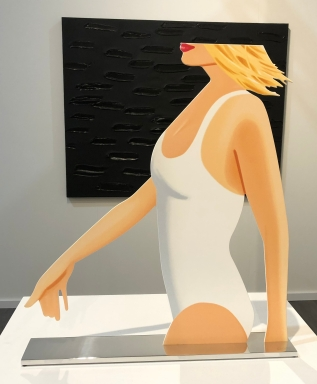 "Alex Katz ""Coca-Cola Girl (Cutout)"" @ Archeus"