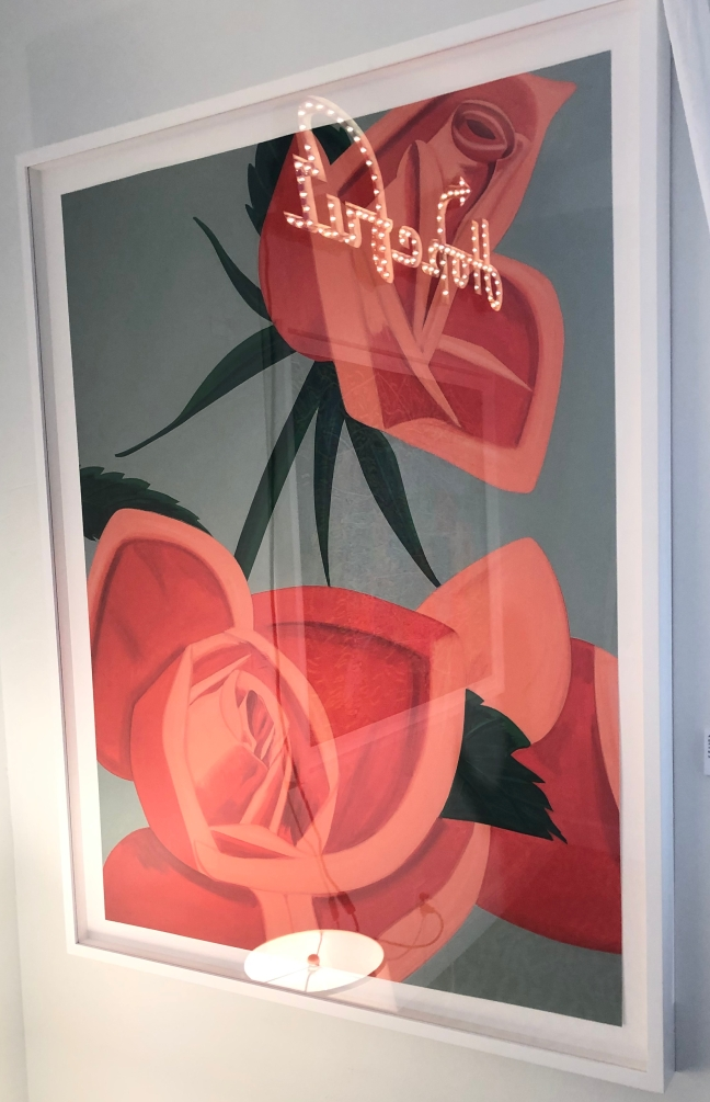 "Alex Katz ""Rose Bud"" @ Gregg Shienbaum Fine Art"