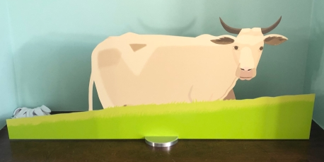 "Alex Katz ""Cow"" @ Gregg Shienbaum Fine Art"