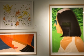 "Alex Katz ""Flowers II"", ""Ada in Spain"" and ""Orange Hat"" @ Hemilton-Selway"