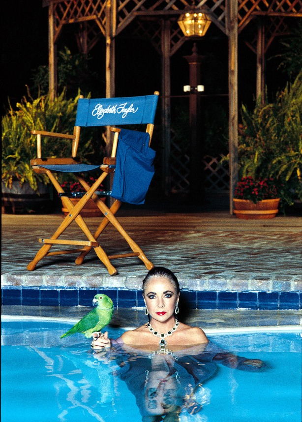 Elizabeth Taylor, Vanity Fair, Los Angeles 1989 © Helmut Newton Estate, courtesy Helmut Newton Foundation